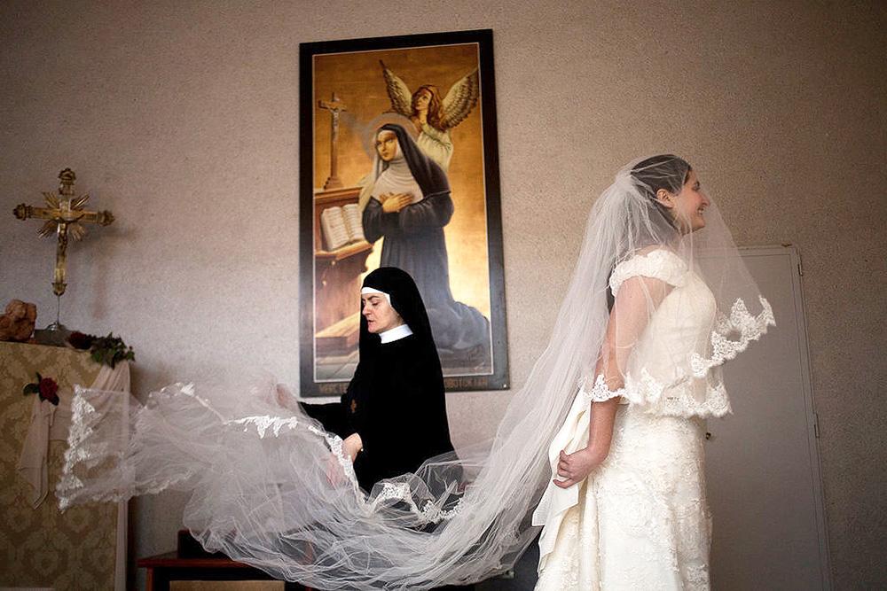 Abiti sposa - monastero Santa Rita da Cascia