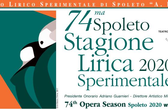 """Stagione delTeatro Lirico Sperimentale """"A. Belli"""" di Spoleto"""
