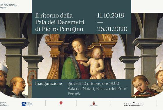 La Pala dei Decemviri del Perugino in Galleria Nazionale