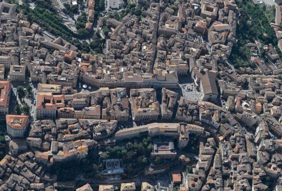 Dedalo, l'uomo che volò sui tetti di Perugia