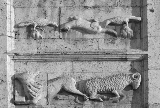 San Pietro a Spoleto, un enigma di pietra