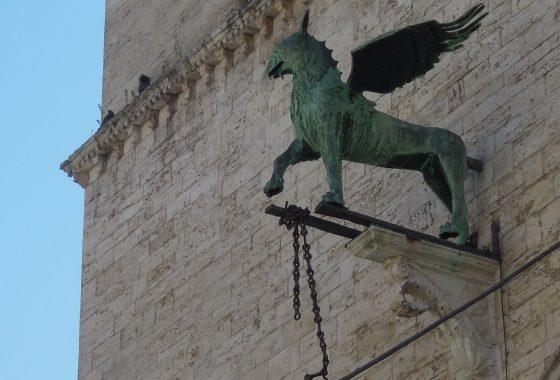 Perugia: il volo del grifo-drone