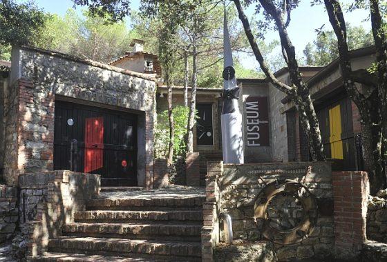 Brajo Fuso e l'arte nascosta sulla collina di Monte Malbe
