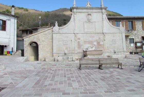 La splendida fontana di Polino